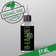 E-liquide Bio Rhubarbe - 50%PG|50%VG - 50ml - Organic 100% 🔥🔥PRIX PROMO 🔥🔥