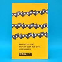 Partner-Ketten um 1960   Prospekt Werbung Kettenpflege AB-Partner Schweden D
