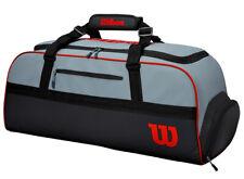Wilson Duffle Bag Large Tennis Bag Racquet Rucksack Racket Gray Nwt Wr8002401001