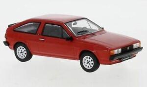 IXO MODELS VOLKSWAGEN SCIROCCO MKII GT/GTI RED 1981 1-43 SCALE CLC349N