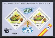 Hungary #2733 Football Soccer Imperf Sheet Mint Never Hinged a723