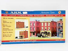 "A..H.M HO U/A ""LASTOP FUNERAL HOME w/HEARSE "" PLASTIC MODEL KIT #5739"