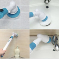 3 Heads Electric Cleaning Brush Head Turbo Scrub Handheld 360° For Multi-Purpose