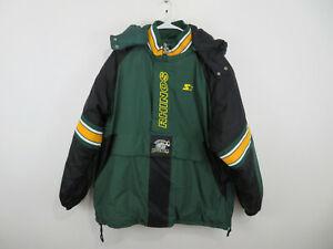 Rochester Rhinos Starter Pullover Jacket Parka Coat USL Soccer Mens Size XL, NEW