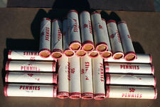 1974  P mint /> 10 ROLL LOT UNCIRCULATED  LINCOLN CENT UNOPENED BANK WRAPPED