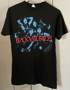 Black Veil Brides Band T-Shirt Size Medium Black