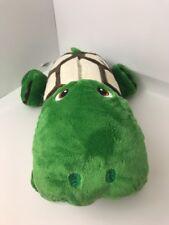 """Stuffies Large SHUFFLES TURTLE 19"""" Full-Size 7 Pockets Plush Stuffed Storage"""