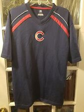 Chicago Cubs EMBROIDERED Jersey Shirt Adult L Playoffs Bryant Lester Rizzo Baez