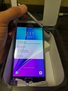 Samsung Galaxy Note 5   32GB - Black,Unlocked 100%,Bell,Chatr...