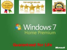 ✔GENUINE MICROSOFT WINDOWS 7 HOME PREMIUM 32/64bit ACTIVATION KEY✔FULLY TRUSTED