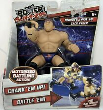 WWE Power Slammers ZACK RYDER Wrestling Action Figure Thunder Twisting Mattel