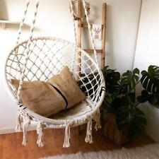 AU Stock Macrame Hammock Chair + Hanging Kit Set Indoor Outdoor Handmade Swing