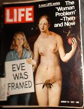 LIFE Magazine August 13, 1971 The 'Woman' Problem - Then and Now