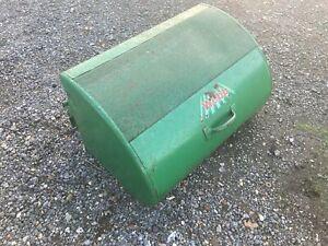 "Webb 24"" Ride on Cylinder mower Parts - Metal Grass Box"