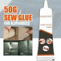 Nähen Sie 50g Kleber Liquid Bonding Reparatur für Kleidung Leder Denim DIY B4A2