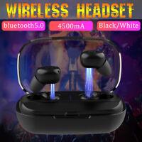 Bluetooth 5.0 Headset TWS IPX7 Wireless Earphones Mini Earbuds Stereo Headphones