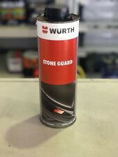 Wurth Stone Guard 1lt Black, Paintable, Automotive Paint