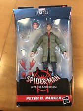 Marvel Legends- Peter B. Parker Spiderverse loose figure no BAF