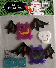 Halloween Window Gel COLORFUL BATS / BOO