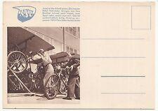 Werbe Postkarte NSU Fahrrad um 1935 / 40 Reklame Ak ! (A1884