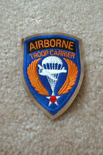 Airborne Troop Carrier (1 - piece) patch on Khaki