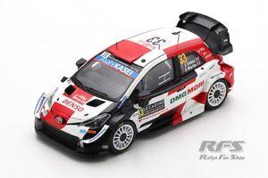Toyota Yaris WRC Rallye Rally Monte Carlo 2021 Evans 1:43 Spark 6583 Gazoo NEU
