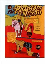 NEW ZEALAND  PHANTOM NO  290 (HIGH GRADE) BY FEATURE PRODUCTIONS 1959