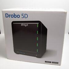 Drobo 5d Direct Attached Storage 5 Bay Array USB 3 2x Thunderbolt 2 - No Drives