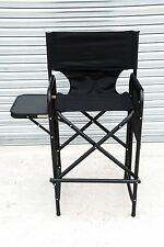 Lightweight Make-up artists Face Painters chair with integrated folding table