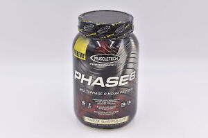 Muscletech Performance Phase 8 Protein, White Chocolate, 2lb, EXP: 10/2021