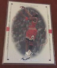 1998-99 Upper Deck SP Authentic Michael Jordan #9 Bulls