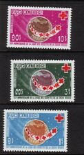 CAMBODIA Sc 207-9 NH issue of 1969 - RED CROSS
