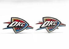 Oklahoma City Thunder Cufflinks NBA Basketball