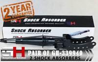 2 FRONT SHOCK ABSORBERS AUDI Q7, PORSCHE CAYENNE, VW TOUAREG/GH-339940P
