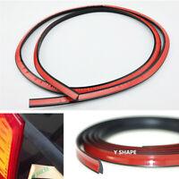Y Shape 4M Black Rubber Weatherstrip Seal Strip for Car Rear Windshield Window
