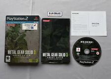 Metal Gear Solid 3 Snake Eater - Steelbook Limité | Sony PS2 en VF | Version PAL