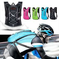 Sport Vest Hydration Backpack and 2L Water Bladder Bag Camping Hiking Running