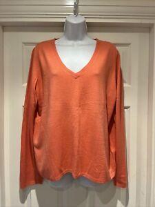 Ladies M&S Fine Knit Jumper Size 18