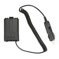 FJ- LX_ DC 12V Car Charger Battery Eliminator for Baofeng UV-5R/5RA +/5RB TYT-TH