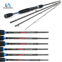 Maxcatch Baitcasting Fishing Rod 2.1M/2.4M Lure Weight 3-80g Travel Fishing Rod