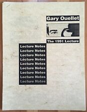Vintage Gary Ouellet The 1991 Lecture Notes Camirand Academy of Magic