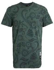 Adidas Men's Royalty Tee Shirt, Grey Six