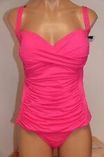 NWT La Blanca Swimsuit Bikini Tankini 2 pc set Sz 16   PKB
