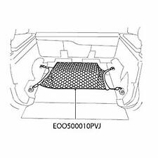 Land Rover New Genuine Discovery 3 & 4 Loadspace Luggage Net EOO500010PVJ