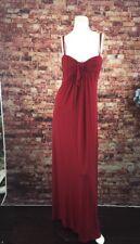BCBG Maxaria Red Spaghetti Strap Maxi Dress Size 8