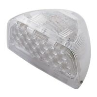 Amber LED//Clear Lens Peterbilt Teardrop Headlight Turn Signal Cover 39 Diodes