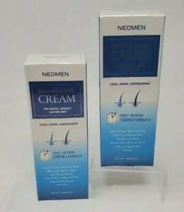 Pack of 2 Neomen Hair Removal Cream Friendly Painless Flawless  For Men