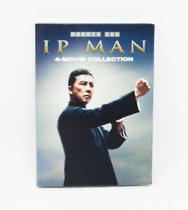 IP Man 4 Movie Collection Donnie Yen 4 Discs Authentic DVD Set BRAND NEW Sealed