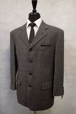 Four Button Woolen Single Breasted Suits for Men