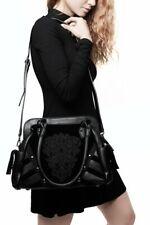Killstar Abbey Gothic Punk Cross Witchy Studs Velvet Purse Handbag KSRA001269